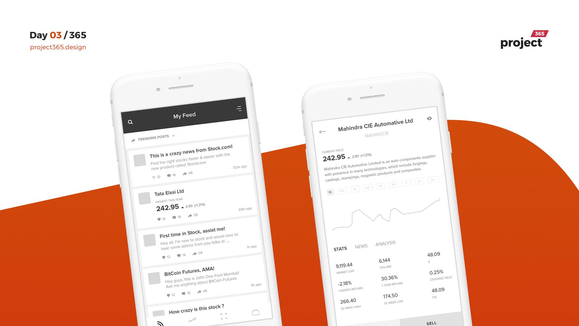 Day 03 – Stock Trading App UX