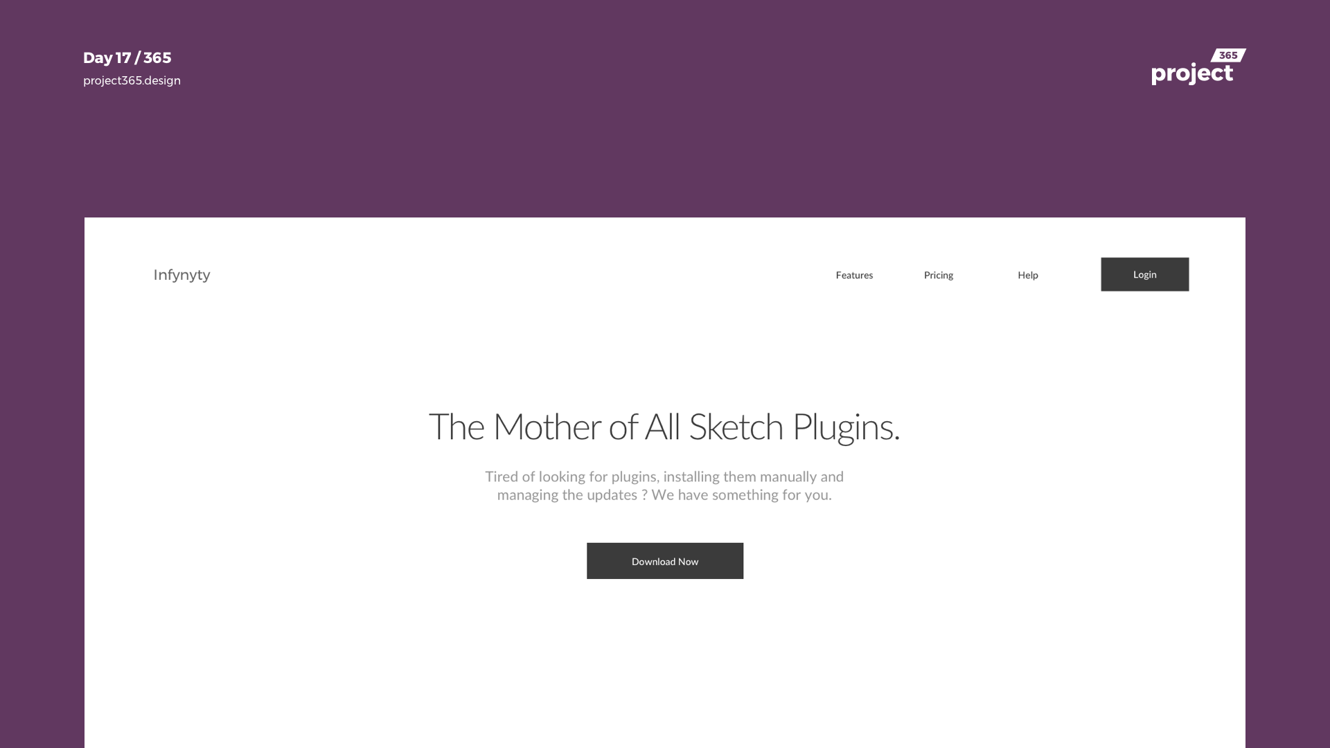 Day 17 – Infynyty – Sketch Plugin Idea