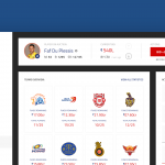 Day 27 – IPLT20 Auction Dashboard Concept