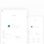 Day 33 – Designer Resume Template – Sketch Freebie