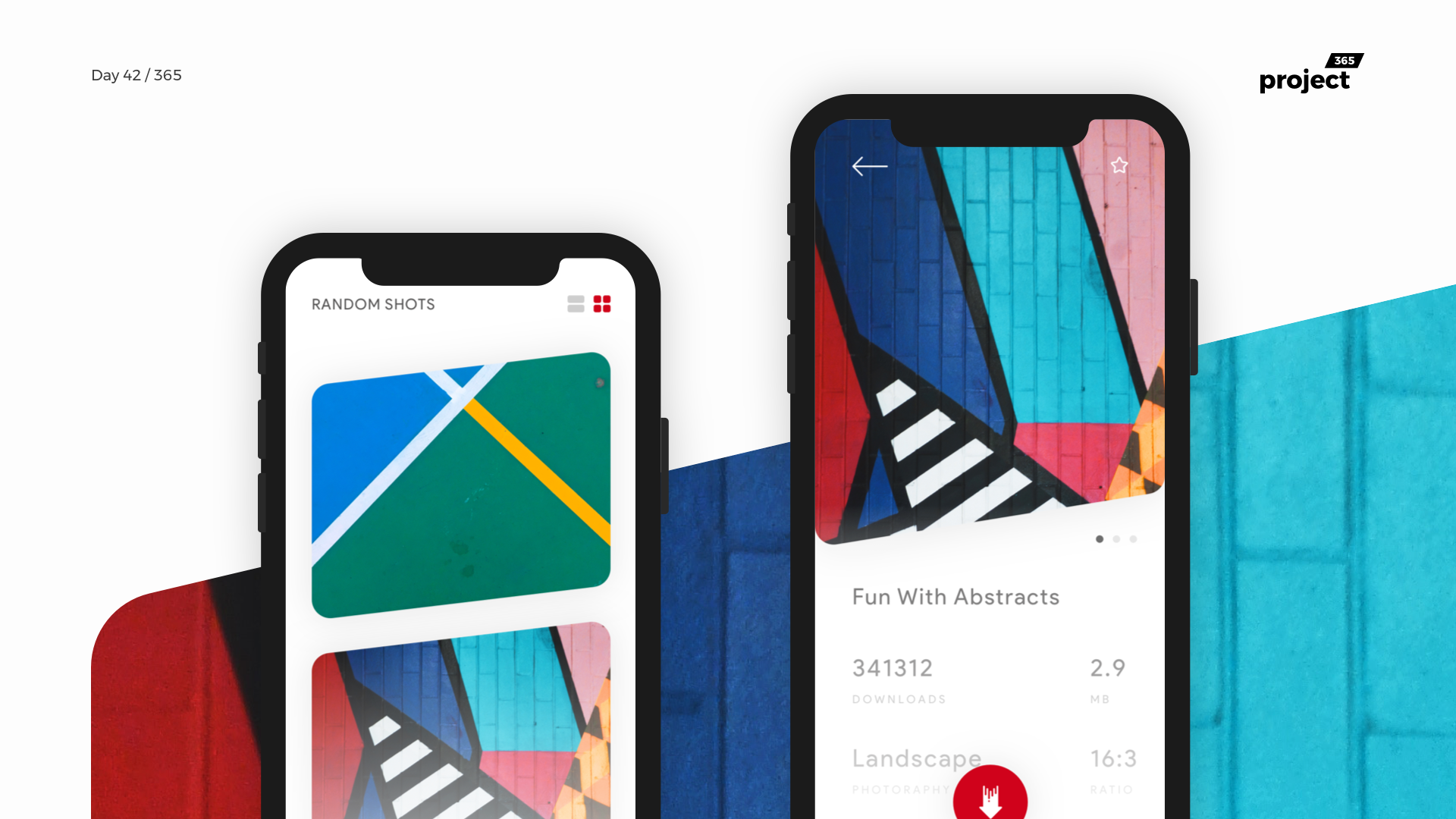 Day 42 – Wallpapers365 – Mobile App