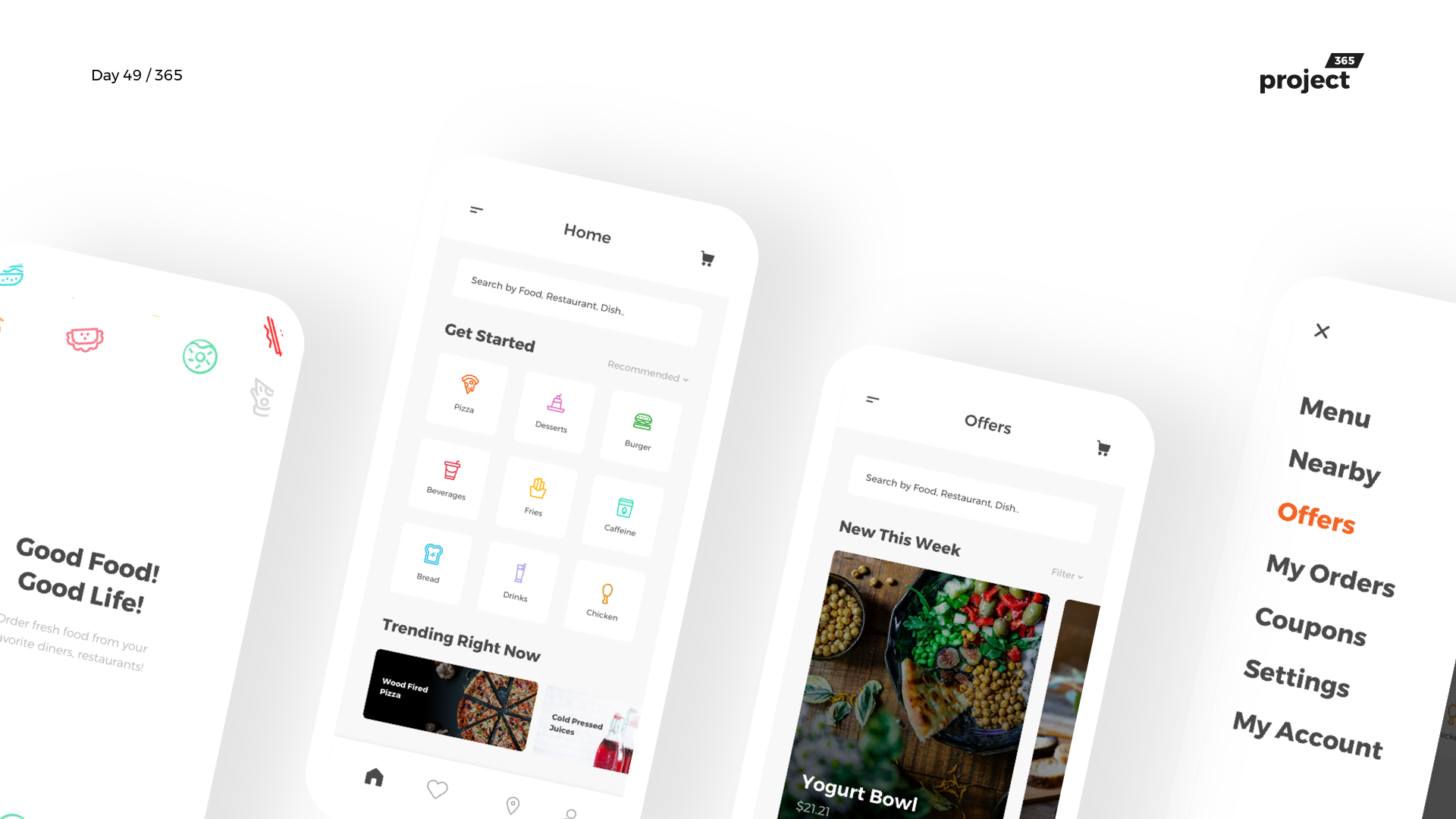 Day 49 – Food365 – Food Discovery & Delivery App