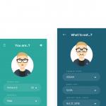 Day 56 – Diet365 – Diet Planner App Concept