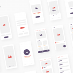 Day 61 – iBlocks – iOS Wireframe Kit – Sketch Freebie