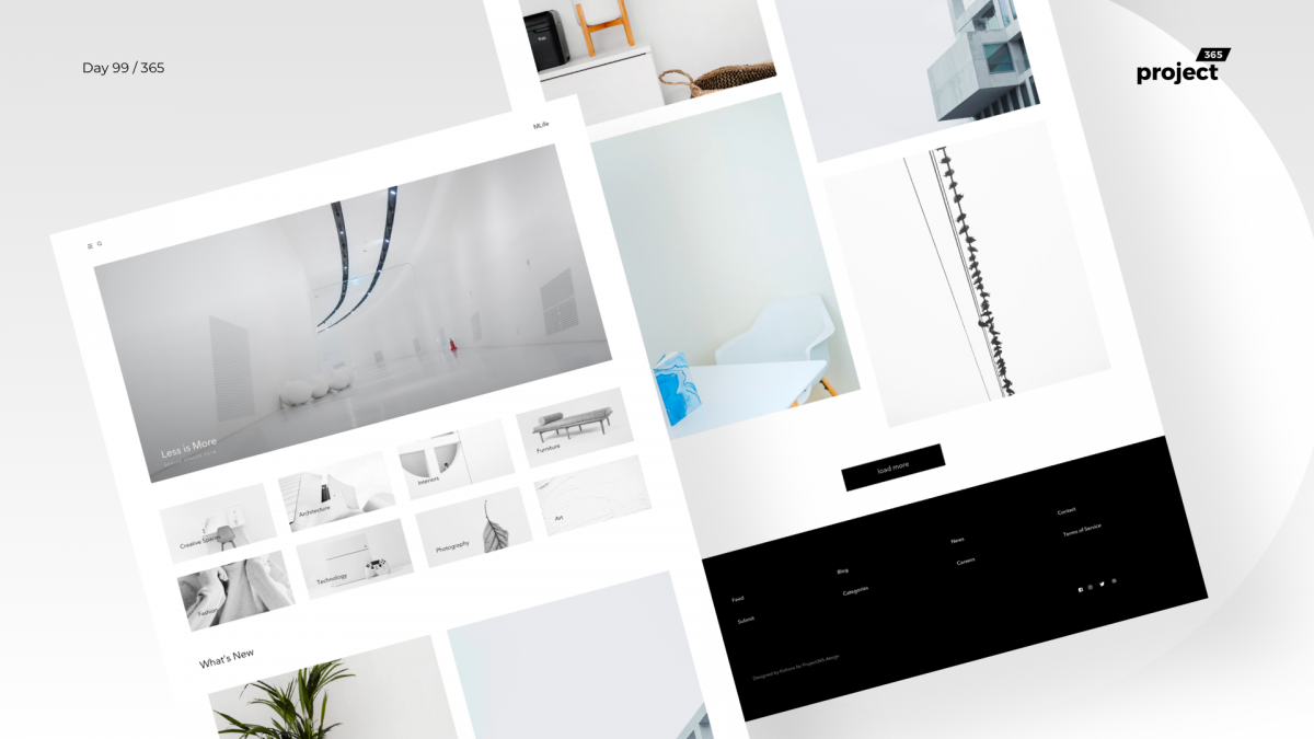 Day 99 – mLife – Minimal Design Inspiration Blog