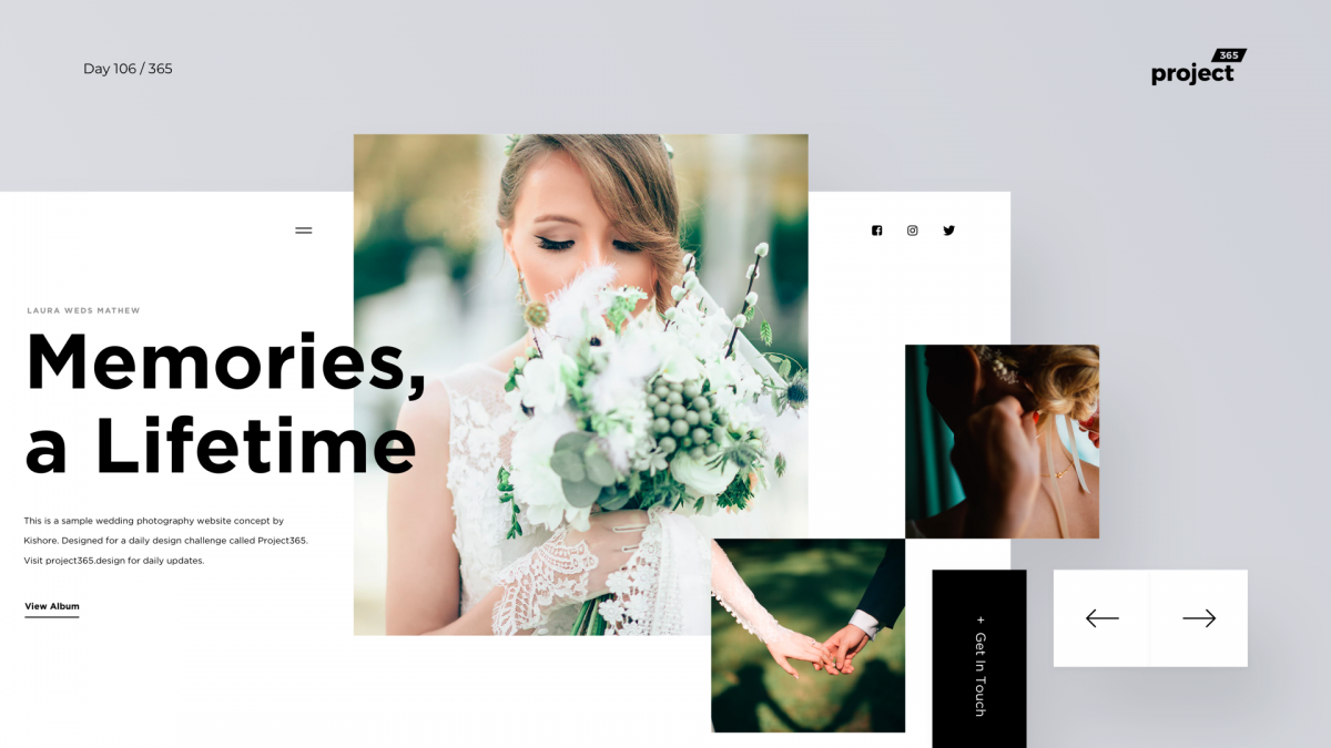 Day 106 – Wedding Photography Site Exploration