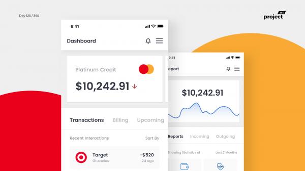 Day 125 – Credit Management Dashboard – Mobile App