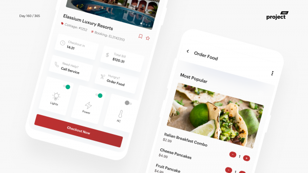 Day 160 – Hotel Check-in App Dashboard