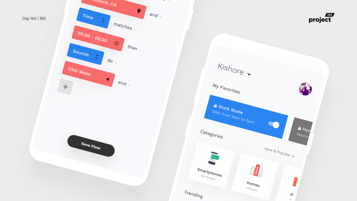 Day 165 – Automate Phone Tasks App Concept