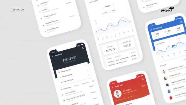 Day 168 – eCommerce Seller App Dashboard