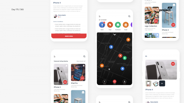 Day 175 – Garage Sales App Concept