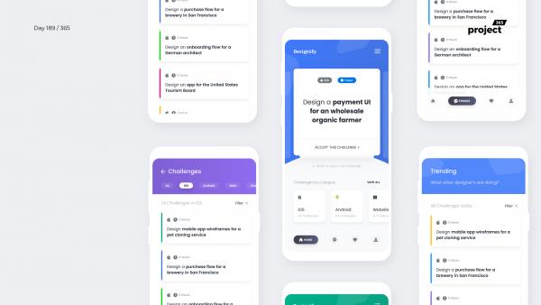 Day 189 – Design Challenges Creator App