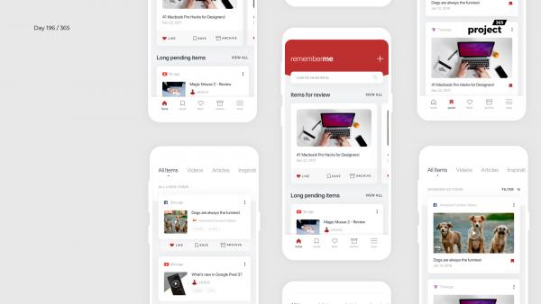 Day 196 – RememberMe – Social Bookmarking App