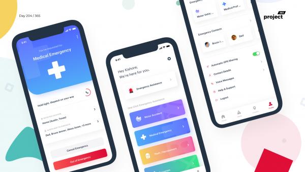 Day 203 – Emergency Crisis Response App Concept