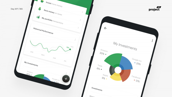 Day 207 – Investments App Exploration