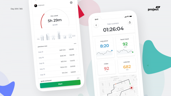 Day 209 – Running App Statistics Dashboard