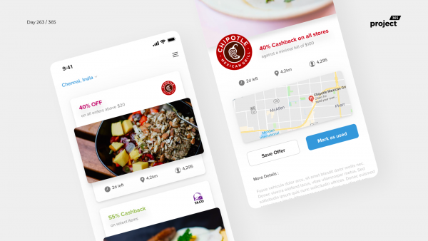 Day 263 – Nearby Events Explorer App Concept