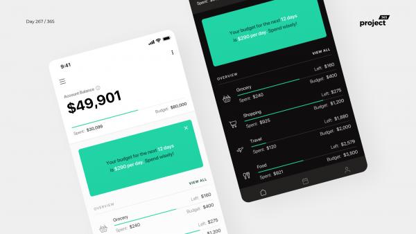 Day 267 – Minimal Budget Planner App