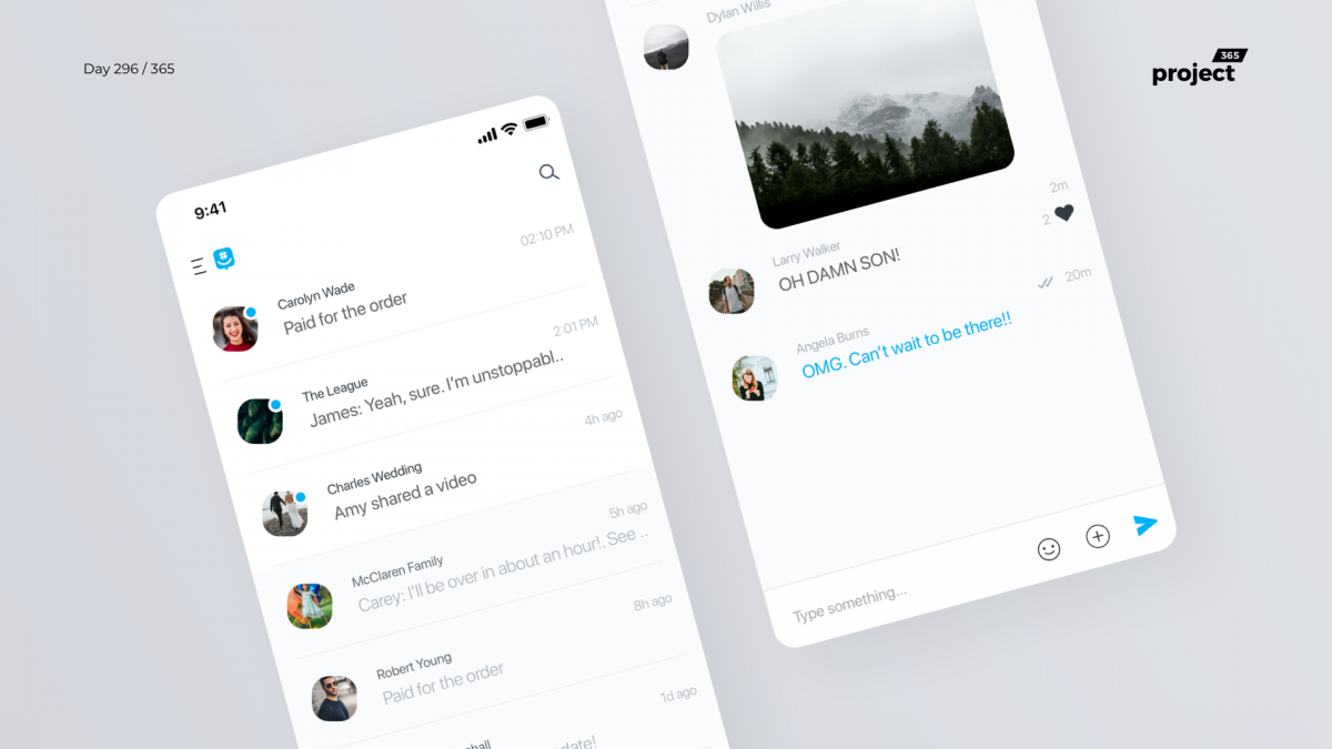 Day 296 – GroupMe App Redesign Concept