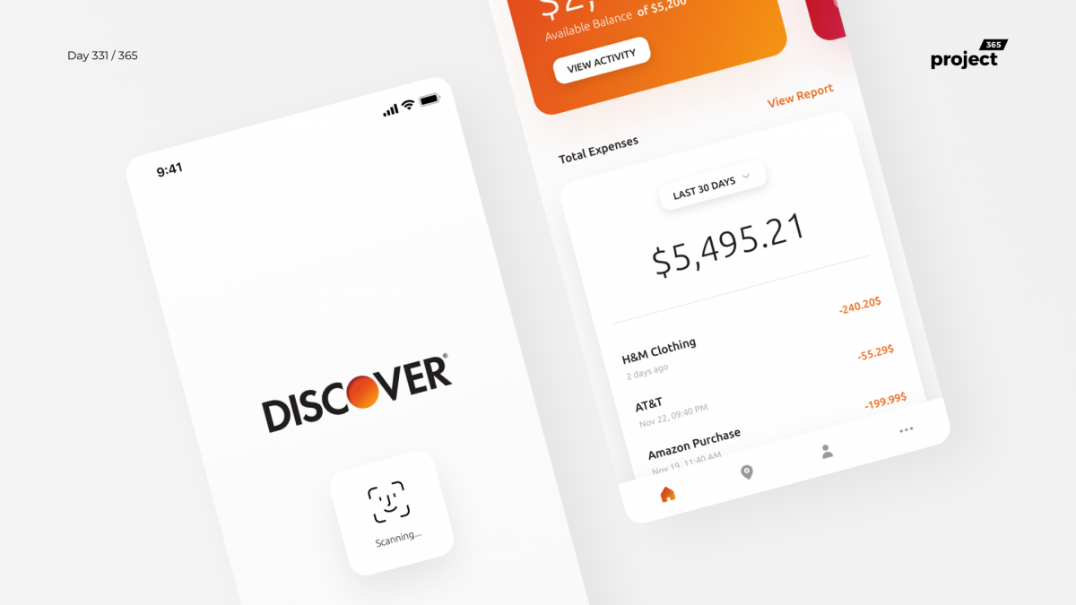 Day 331 – Discover Mobile App Redesign Concept
