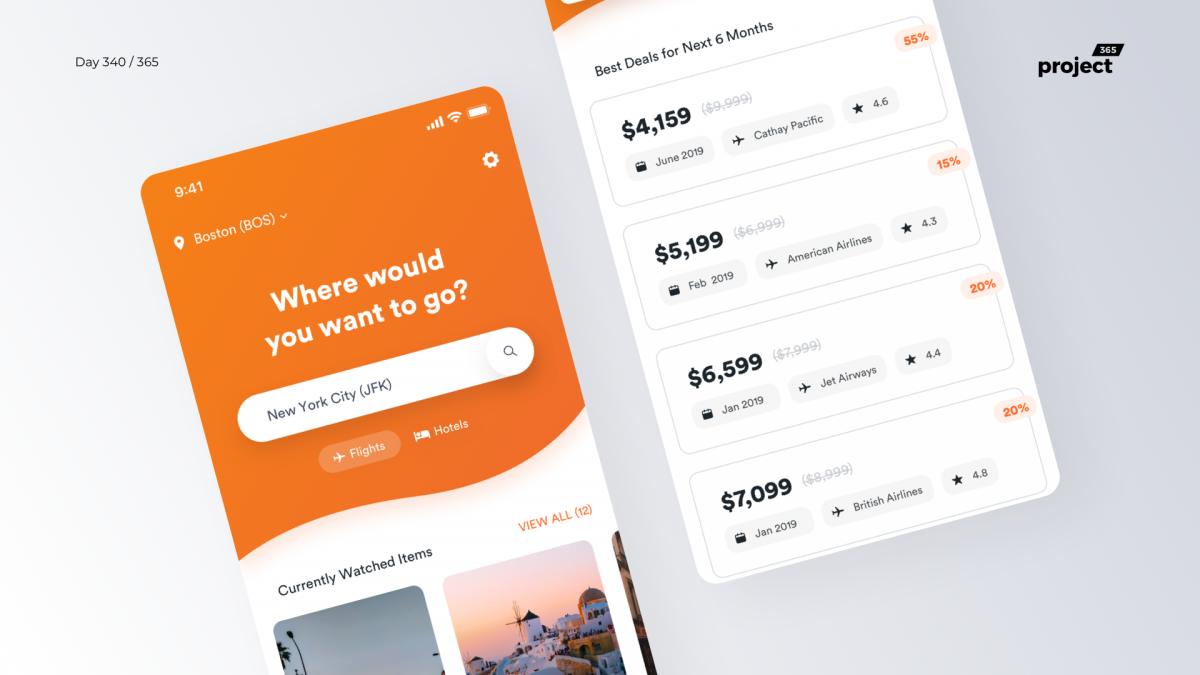 Day 340 – Flight Tickets Deal Tracker App