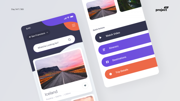 Day 347 – Curated Travel Stories App