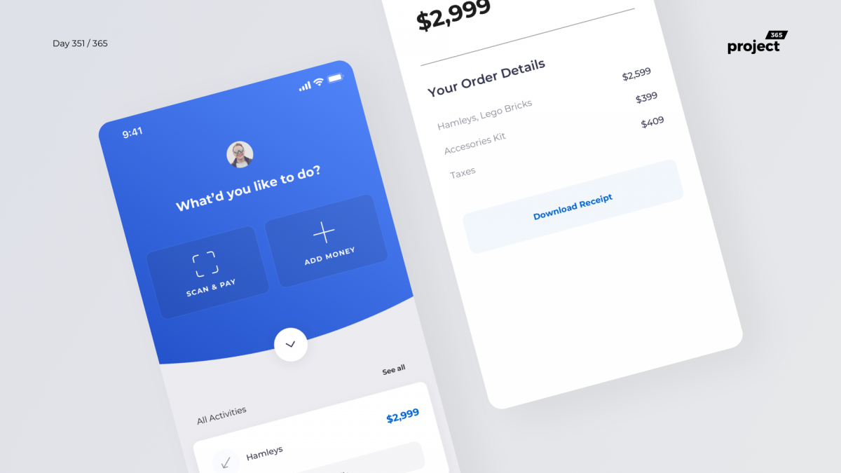 Day 351 – Stores POS App Concept