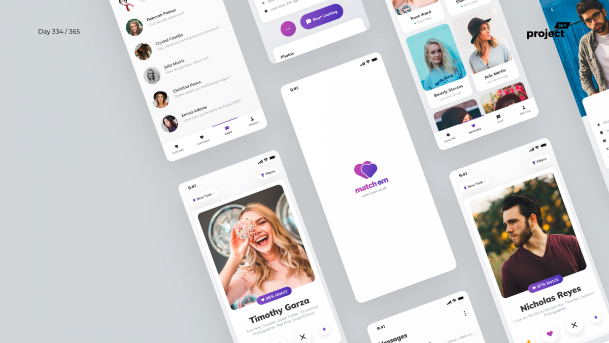 Day 334 – Dating App Sketch Freebie